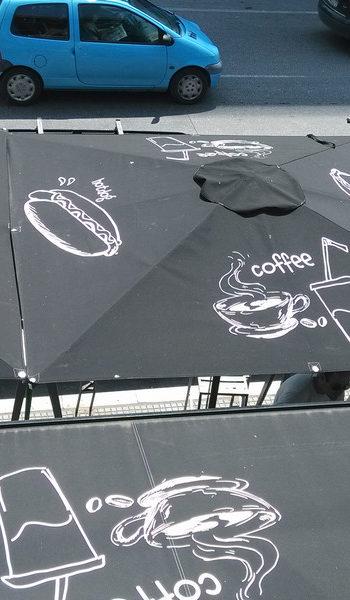 Ομπρέλες Επαγγελματικές 2×210